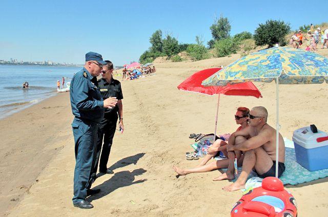 Инспекторы объясняют: купаться на «диких пляжах» опасно.