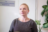 Участница испытаний Анна Куткина.