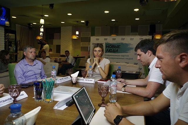 Представители Белгородского отделения партии «Новые люди» обсудили меры поддержки бизнеса.