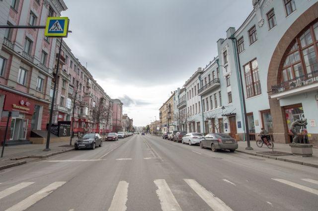 До конца года документы появятся почти у половины красноярских улиц.