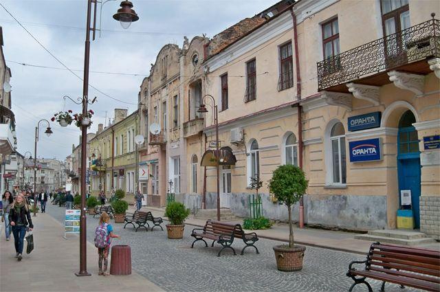 Город Золочев, Украина.