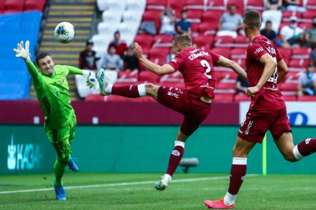 «Рубин» сыграл вничью с «Ростовом» и довел беспроигрышную серию до 5 матчей