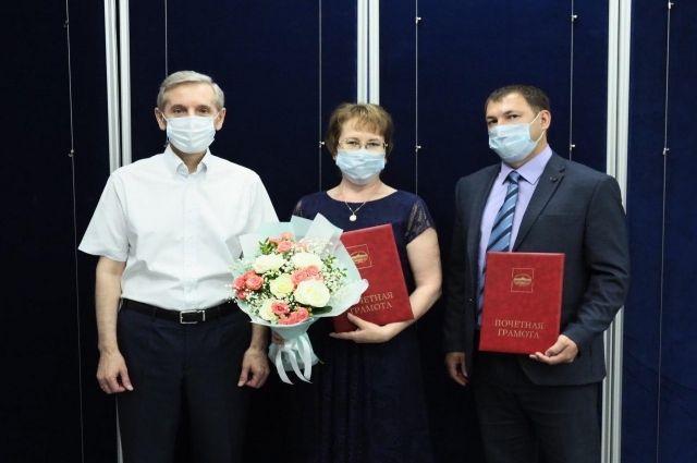 В Тюменской области наградили врачей