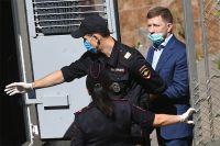 Губернатор Хабаровского края Сергей Фургал, арестованный Басманным судом Москвы до 9 сентября по обвинению в организации убийств бизнесменов в 2000-х годах.