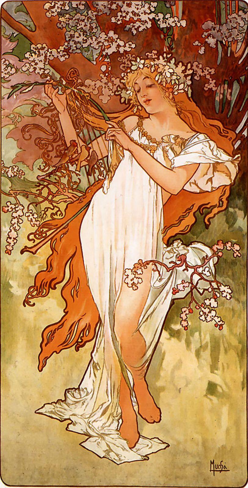 «Весна», 1896 год.