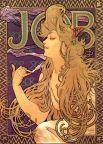 Реклама сигарет «Job», 1896 год.