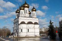 Храм Александра Невского на Привокзальной площади в Твери.