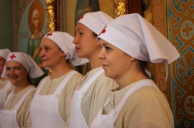 В Калининграде состоялся первый выпуск сестер милосердия