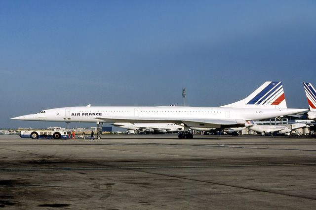 Concorde Air France.