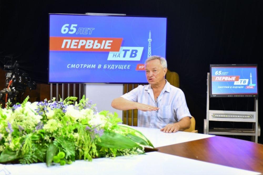 Режиссёр Александр Змага.