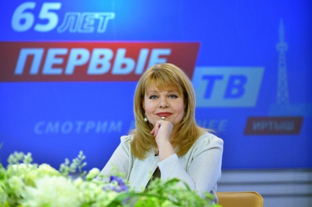 "Директор ГТРК ""Иртыш"" Елена Моренис."