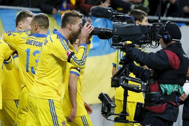 Украина перепраздновала выход на Евро-2016, а на самом турнире выступить «забыла».
