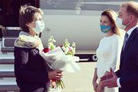 В Украину с рабочим визитом визитом прибыла президент Швейцарии