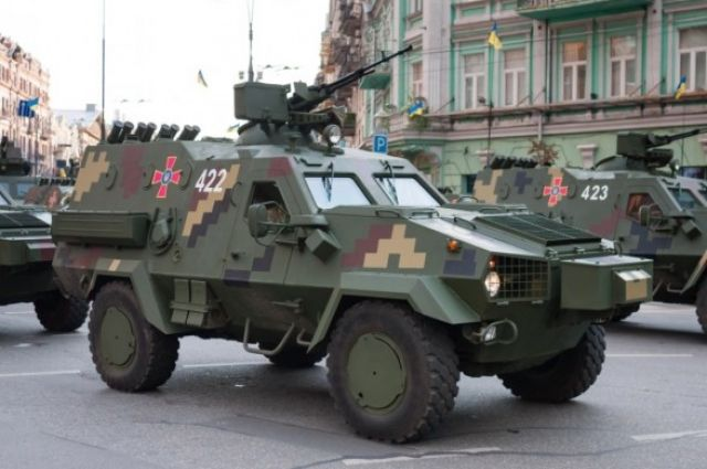 ВСУ приняли на вооружение тактическую боевую машину «Дозор-Б»
