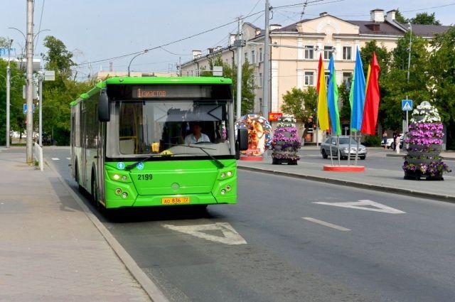 Изменится маршрут автобуса №40 в Тюмени