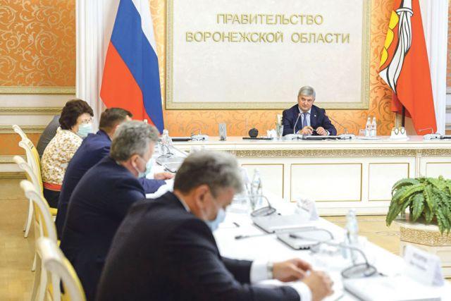 Заседание регионального штаба провёл губернатор Александр Гусев.