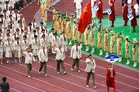 Открытие XXII летних Олимпийских игр в Москве.