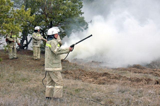 Июль – самое сложное время для пожарных служб региона.