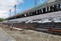 На реконструированном стадионе «Ангара» планируют отметить 70-летие города.