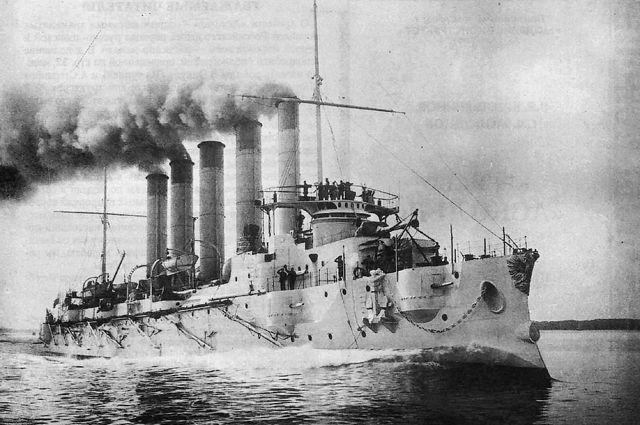 Крейсер «Аскольд» попрозвищу «Портсигар».
