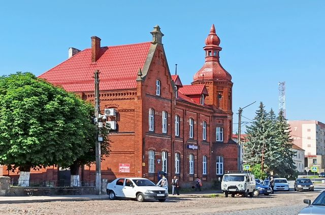 В Озёрске много интересных исторических зданий.