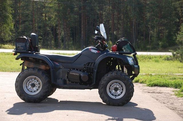 Родители 8-летнего тюменца, ездившего на квадроцикле, заплатят 30 тыс. руб.