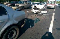 В Киеве пьяный водитель спровоцировал тройное ДТП