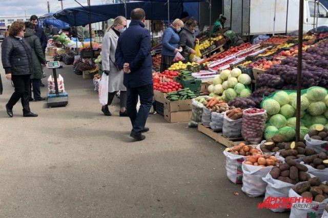 Рынок «Петровский» в Оренбурге открылся раньше срока.