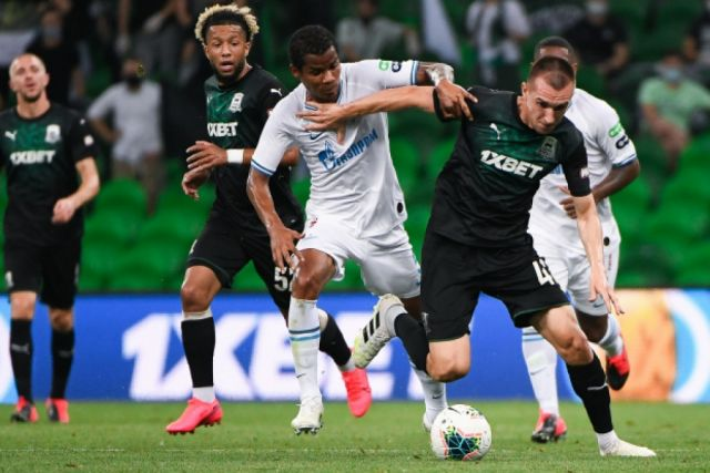 ФК «Краснодар» после матча отправился в недельный отпуск