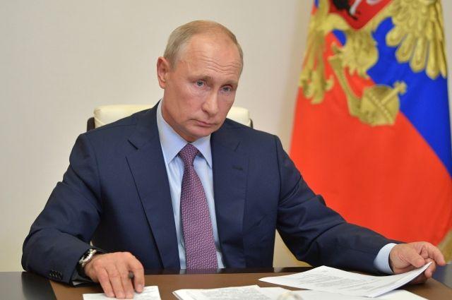 Путин подписал указ о Главном военно-морском параде в Санкт-Петербурге