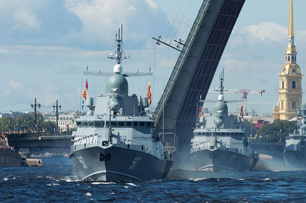 Малый ракетный корабль «Мытищи». Санкт-Петербург.