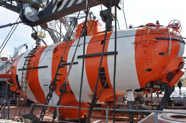 Глубоководный спасательный аппарат «АС-28».