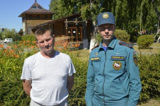В Тюменской области мужчина спас тонущего малыша