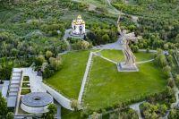 Мамаев курган в Волгограде - одно из самых любимых мест туристов в городе