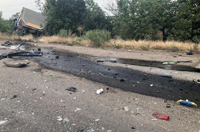 В Николаевской области столкнулись два грузовика: один человек погиб