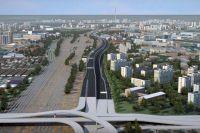 Северо-Восточная хорда: эстакады и новые мосты.