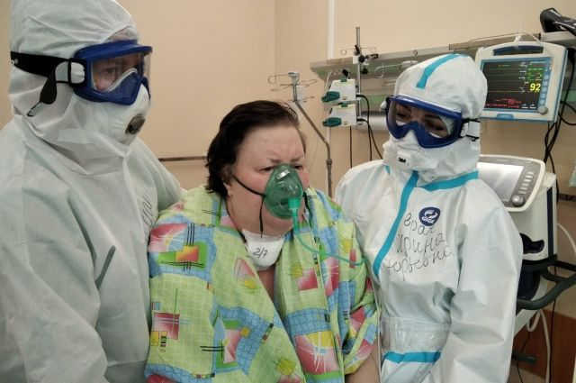 Два месяца без сознания. Кимрячка перенесла коронавирус, пневмонию и 100% поражение лёгких
