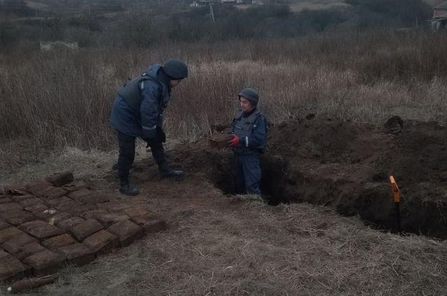 В Украине с начала года обезвредили более 35 тысяч взрывоопасных предметов