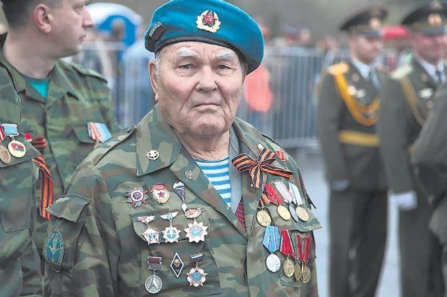 Втарейшему десантнику, ветерану Великой Отечественной войны уже 95 лет.