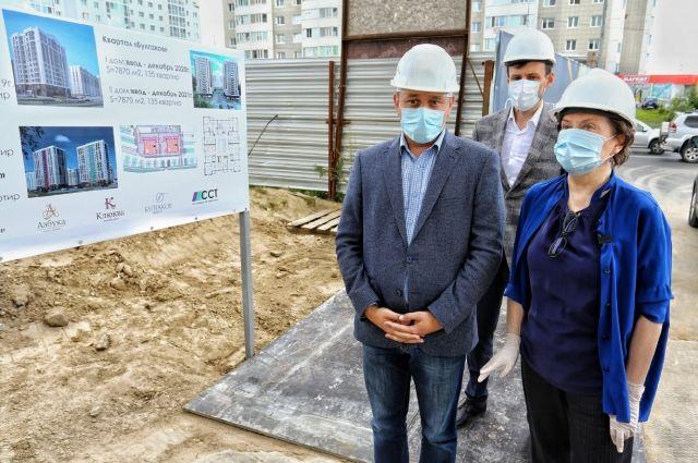 Глава региона проинспектировала строительство домов жилого комплекса «Булгаков» в Сургуте