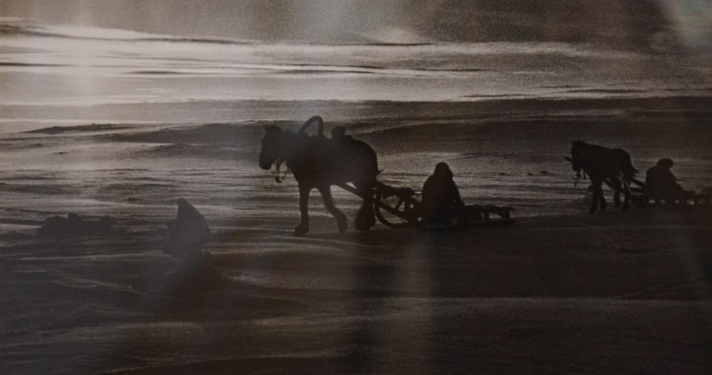 «Дорога жизни» на полуостров Рыбачий.1942