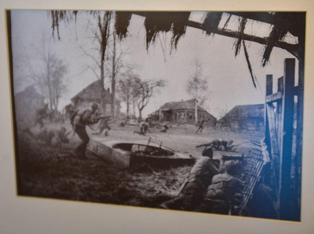 Бой за деревню.1941