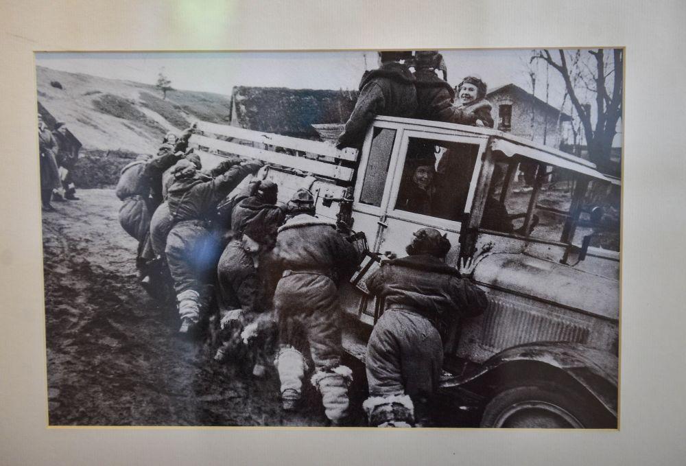 Марш-бросок. 46-й Гвардейский полк.1942