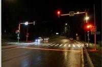 Теперь даже в темное время суток здесь буден намного ярче, что будет помогать всем участникам дорожного движения.