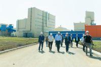 В Новотроицке состоялся официальный запуск содового завода.