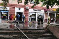Погибших и пострадавших на пожаре нет. По факту пожара проводится проверка. Устанавливаются обстоятельства и причины.