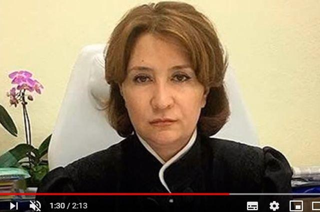 Отчислена Фемидой. За что «золотую судью» Хахалеву лишили мантии