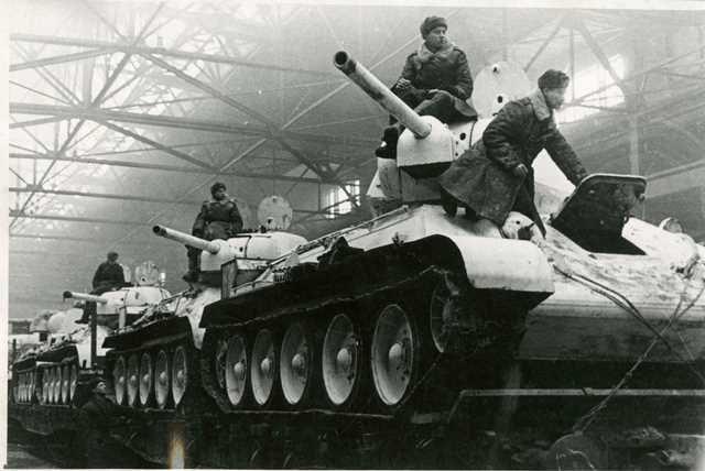 В Челябинске в годы Великой Отечественной войны выпустили пятую часть всех танков.