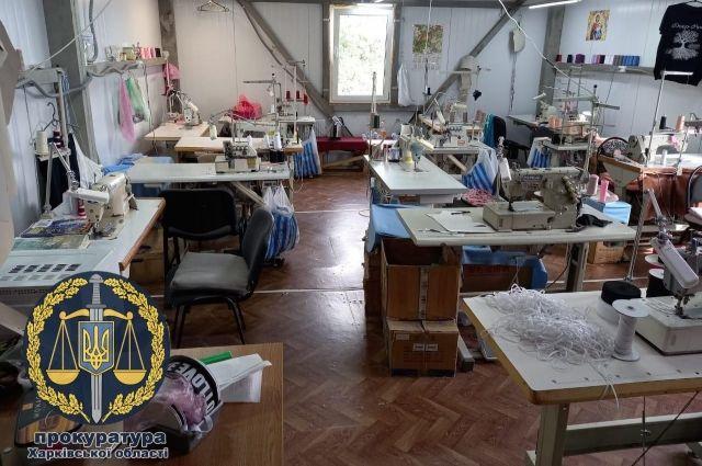В Харькове выявили подпольное производство одежды на более 2 млн гривен