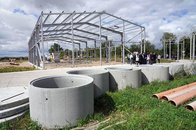 В Гусевском городском округе началось строительство завода по производству мясокостной муки